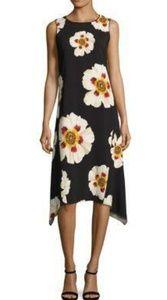 Lafayette 148 | Romona Floral Fluid Cloth Dress L